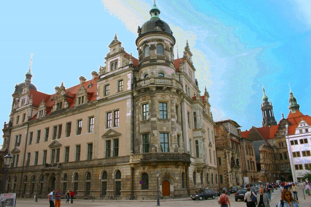 Schloss in Dresden